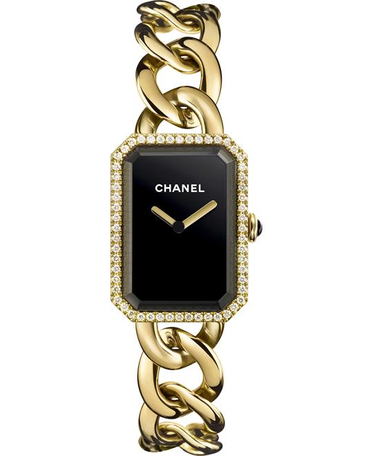 CHANEL PREMIERE BLACK DIAL LADIES WATCH 28 X 20MM