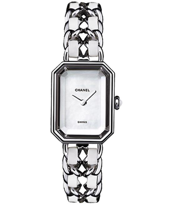 Chanel Première H1639 Ladies Stainless Watch 19.5 x 15
