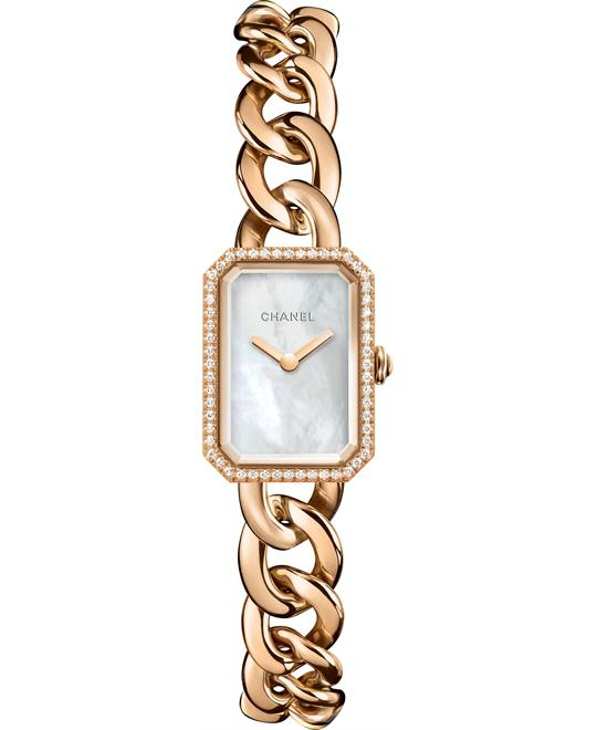 CHANEL Premiere Mother of Pearl Dial Ladies Watch 22 x 16 mm