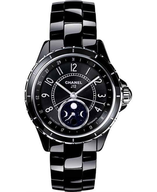 Chanel h3406 Unisex Automatic Ceramic Black Sapphire 38mm