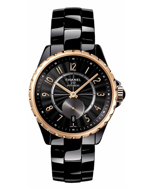 Chanel h3838 Unisex Automatic Ceramic Sapphire 36.5mm
