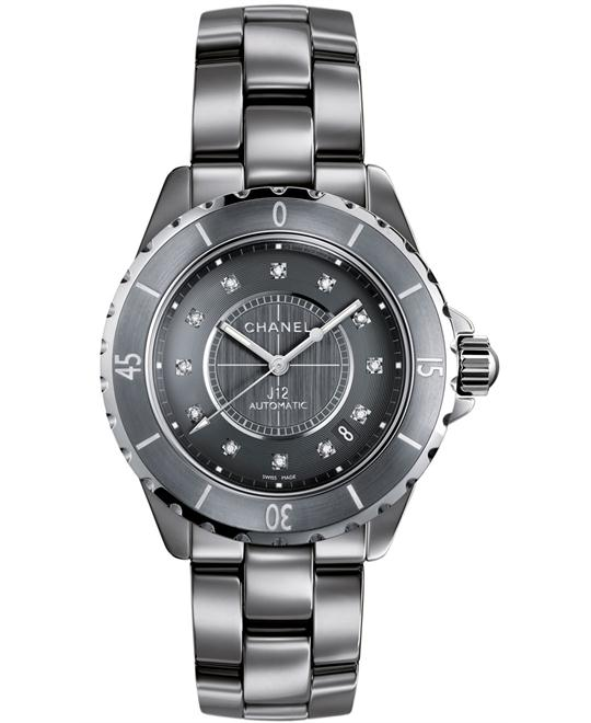 Chanel Unisex Automatic Ceramic Sapphire 38mm