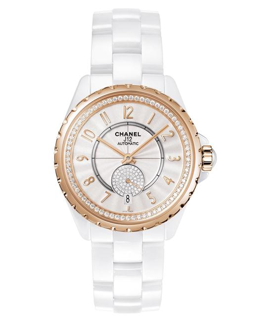 Chanel h3843 Unisex Automatic Ceramic White 36.5mm
