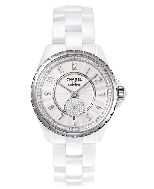 Chanel h3841 Unisex Automatic Ceramic White 36.5mm