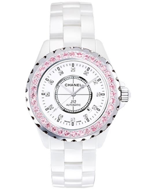 Chanel H2011 Unisex Automatic Ceramic White 42mm