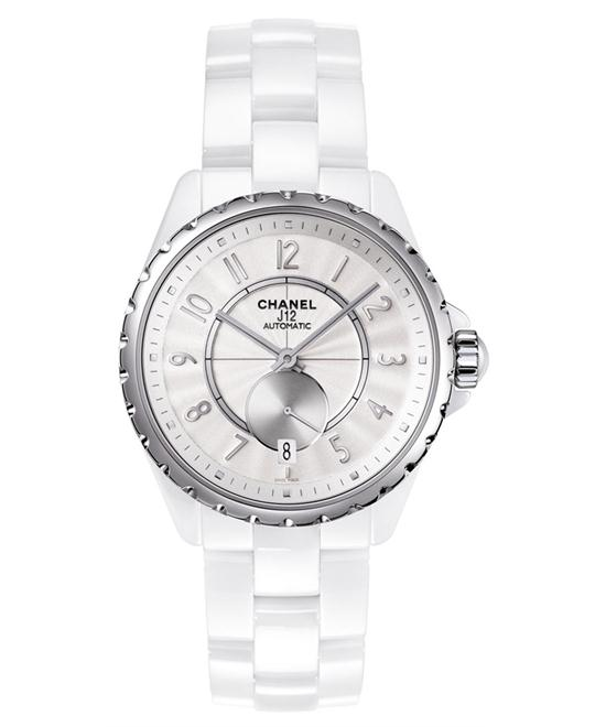Chanel h3837 Unisex Automatic Ceramic White Sapphire 36.5mm