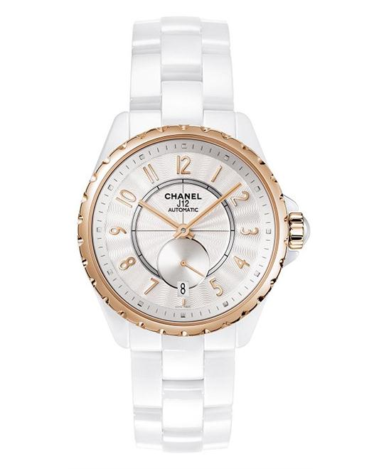 Chanel h3839 Unisex Automatic Ceramic White Sapphire 36.5mm