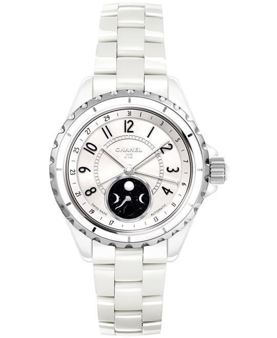 Chanel Unisex Automatic Ceramic White Sapphire 38mm