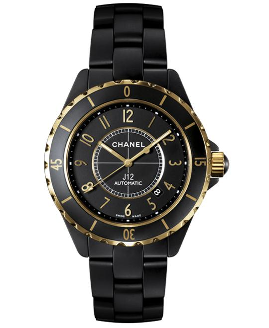 Chanel h2918 Unisex Ceramic Automatic Sapphire 42mm