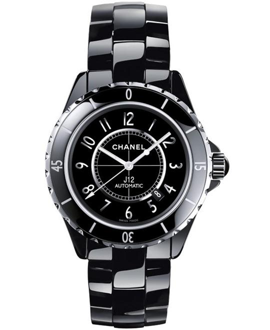 Chanel Unisex Ceramic Automatic Sapphire 42mm