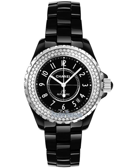 Chanel h0950 Unisex Ceramic Black Automatic 38mm