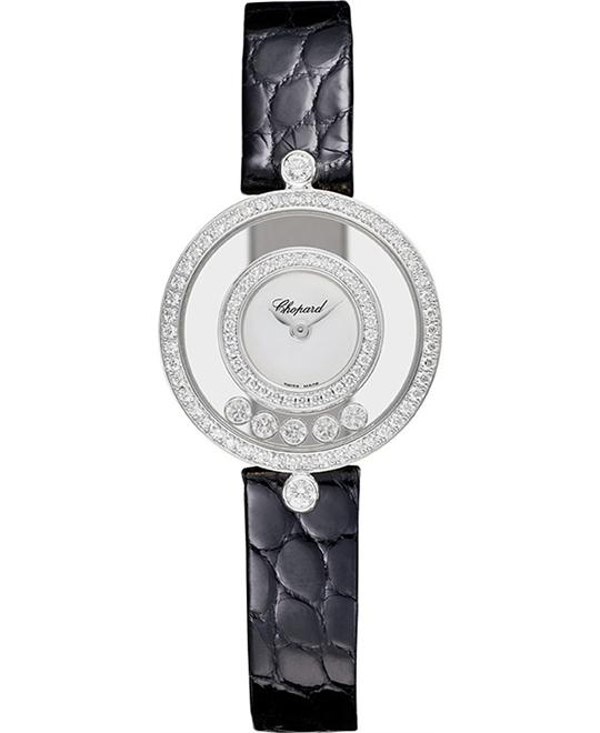 đồng hồ Chopard 203957-1201 Happy Diamonds Watch 25.8mm
