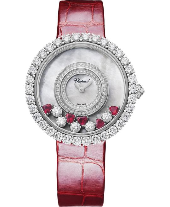 đồng hồ Chopard 204445-1006 Happy Diamonds Womens Watch 37.7mm