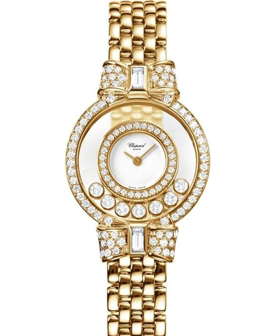 đồng hồ Chopard 205596-0001 Happy Diamonds Small 30mm