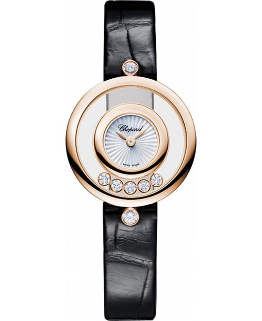 đồng hồ Chopard 209415-5001-al happy diamonds ladies watch 25mm