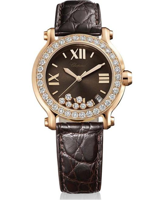 Chopard 277473-5008 Happy Sport Ladies Watch 36mm