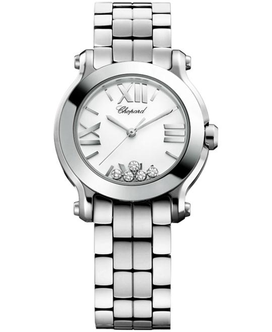 Chopard 278509-3002 Happy sport Diamond Watch 30mm