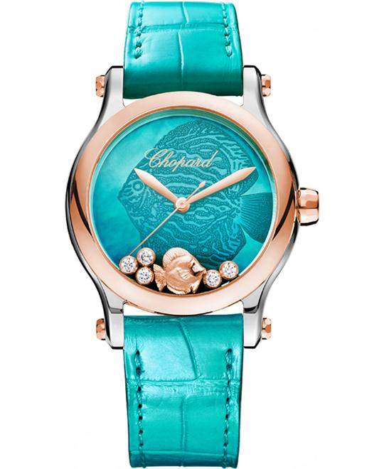 Chopard 278578-6001 Happy Sport Fish Women 36mm