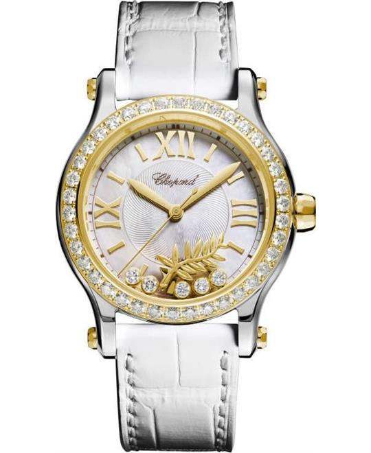 Chopard Happy Palm 278578-4001 18k Diamonds Limited 36mm
