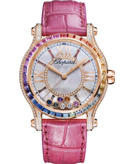 CHOPARD 274891-5007 Happy Sport Diamonds Watch 36mm