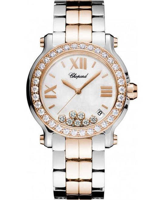 đồng hồ Chopard Happy Sport Medium Diamonds Watch 36mm