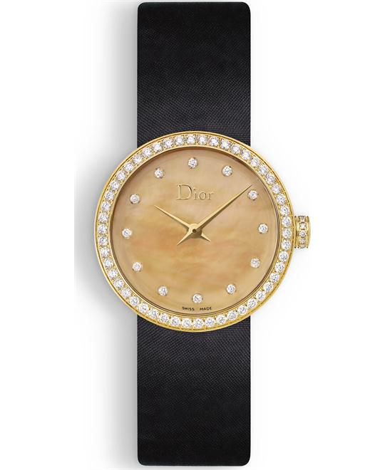 Christian Dior La D De Dior CD047150A001 Gold 25mm