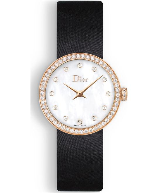 Christian Dior La D De Dior CD047170A001 Satin 25mm