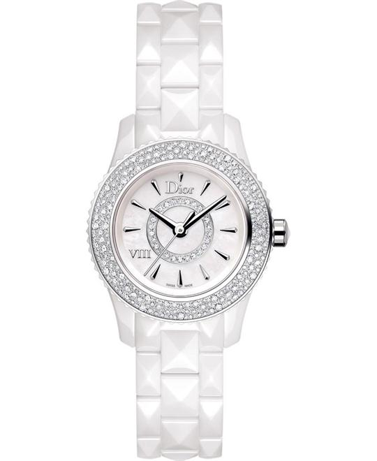 Christian Dior VIII CD1221E4C001 Quartz Watch 28mm