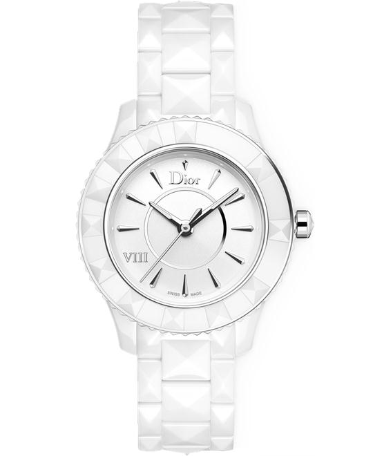 Christian Dior VIII CD1231E2C001 Ceramic Watch 33mm