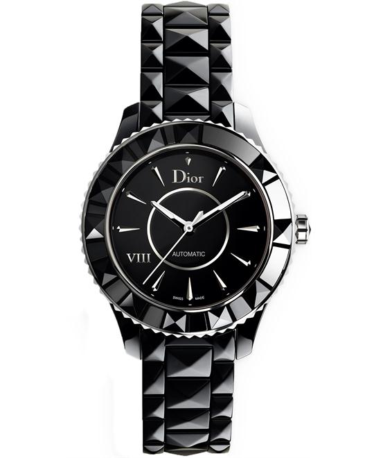 Christian Dior VIII CD1245E0C001 Black Ceramic 38mm