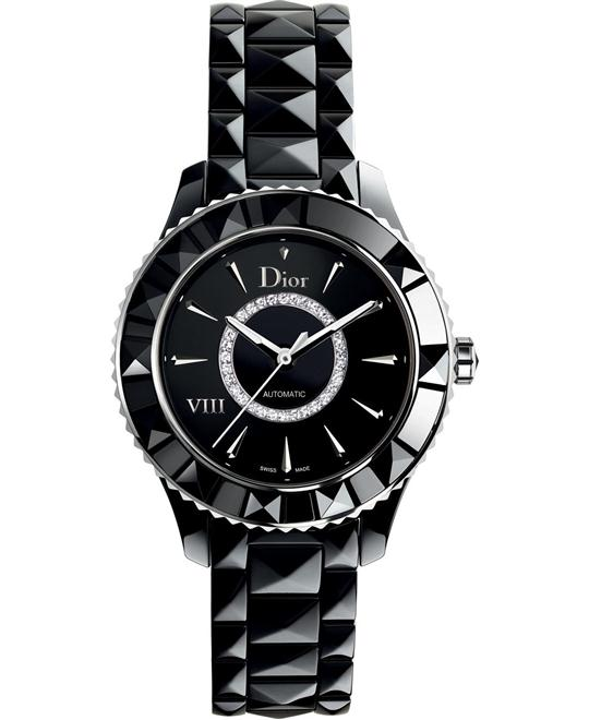 Christian Dior VIII CD1245E0C002 Black Ceramic 38mm