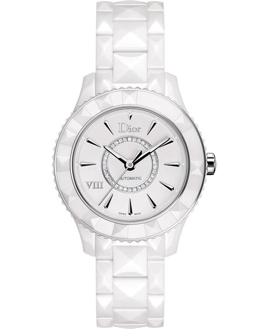 Christian Dior VIII CD1245E3C002 Ceramic 38mm