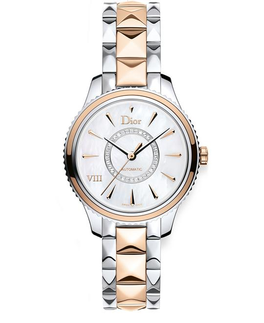 Christian Dior VIII CD1525I0M001 Diamonds Watch 32mm