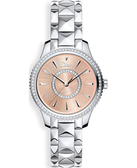 Christian Dior VIII CD152510M002 Diamonds Watch 32mm
