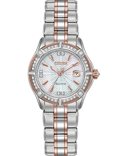 CITIZEN Arezzo Diamonds Ladies Watch 36mm