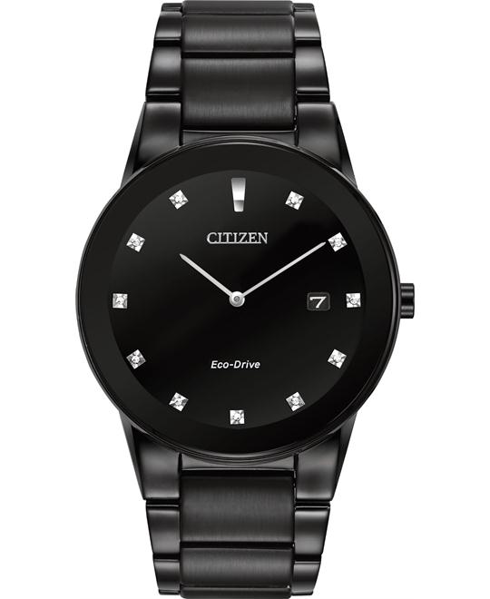 CITIZEN Axiom Black Dial Men's Watch 40mm