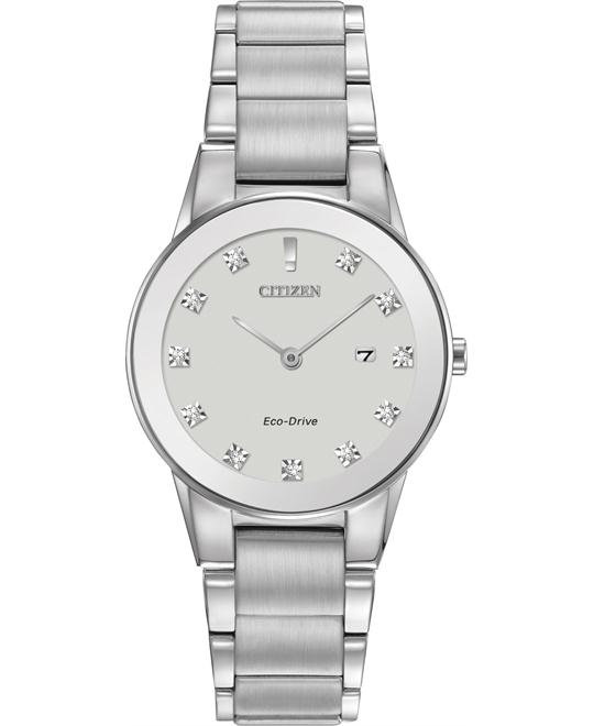 CITIZEN Axiom Eco-drive Silver Ladies Watch 30mm