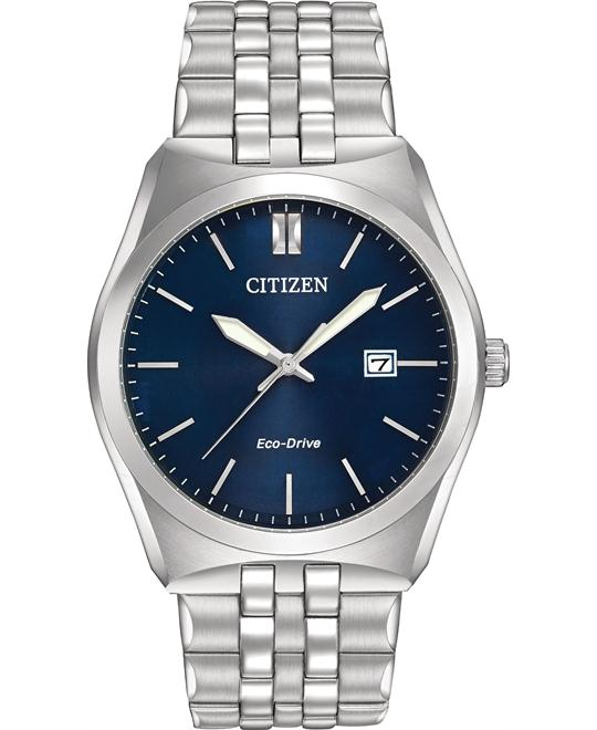 CITIZEN Corso Eco-Drive Blue Men's Watch 40mm