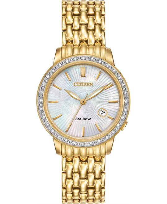 Citizen Diamond Eco-Drive Women's Watch 29mm
