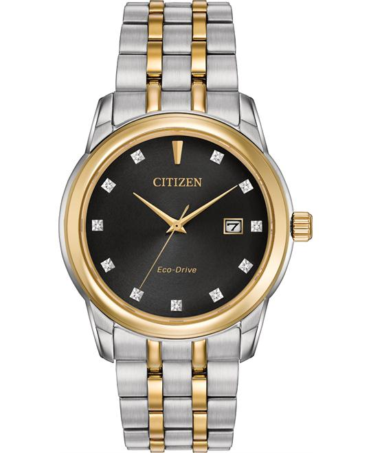 CITIZEN Diamond Men's Watch 39MM