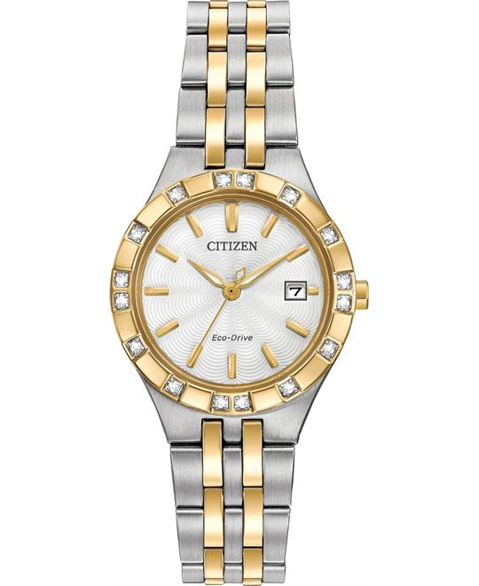 CITIZEN Diamond Sport Ladies Watch 27mm