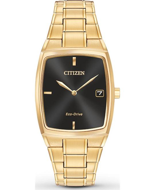 CITIZEN Eco-Drive Black Men's Watch 44x32mm