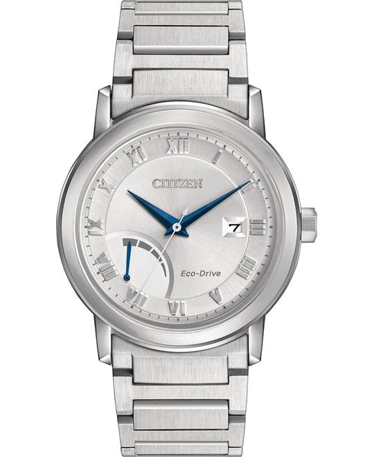CITIZEN ECO-DRIVE POWER RESERVE WATCH 41MM