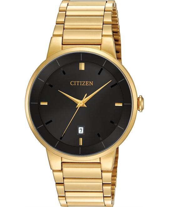 Citizen Gold Stainless Quartz Men's Watch 40mm