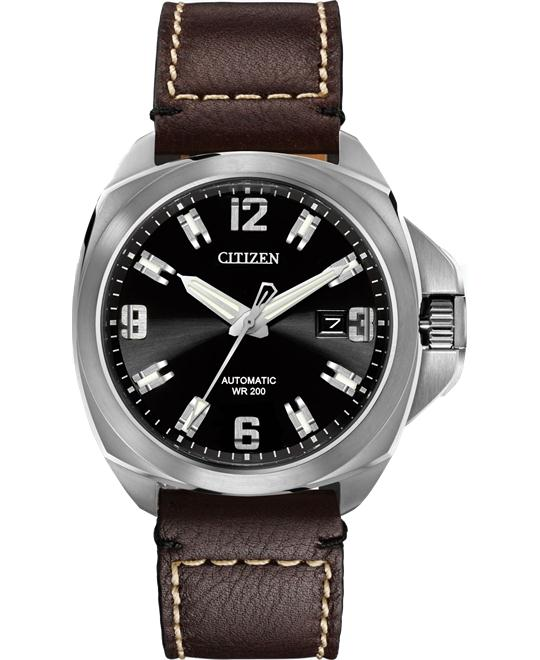 đồng hồ Citizen Grand Touring Signature Automatic Watch 44mm