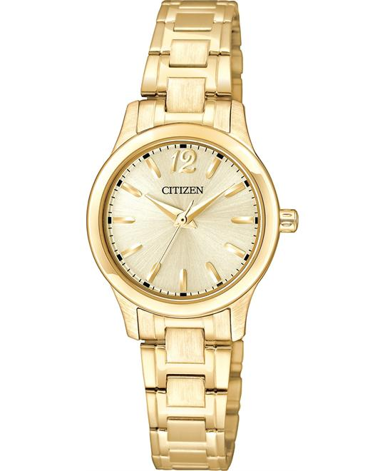 Citizen Japanese Quartz Gold Watch 25MM