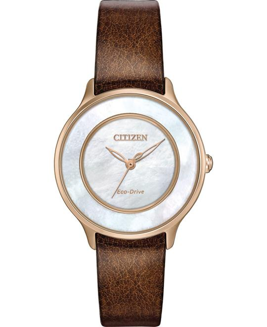 CITIZEN L CIRCLE OF TIME WATCH 30MM