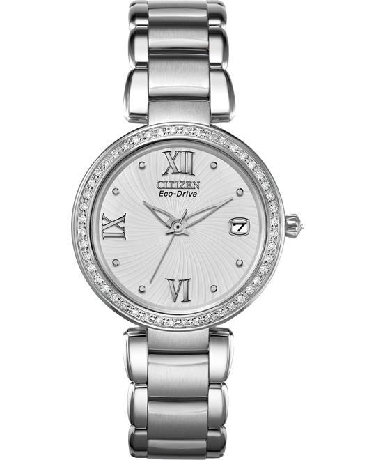 đồng hồ Citizen Marne Signature DiamondsWatch 33mm