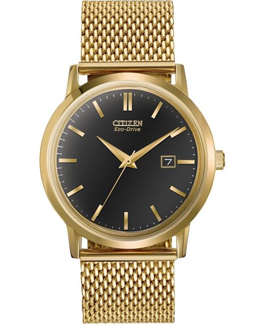 Citizen Men's Collection Japanese Gold Watch, 40mm