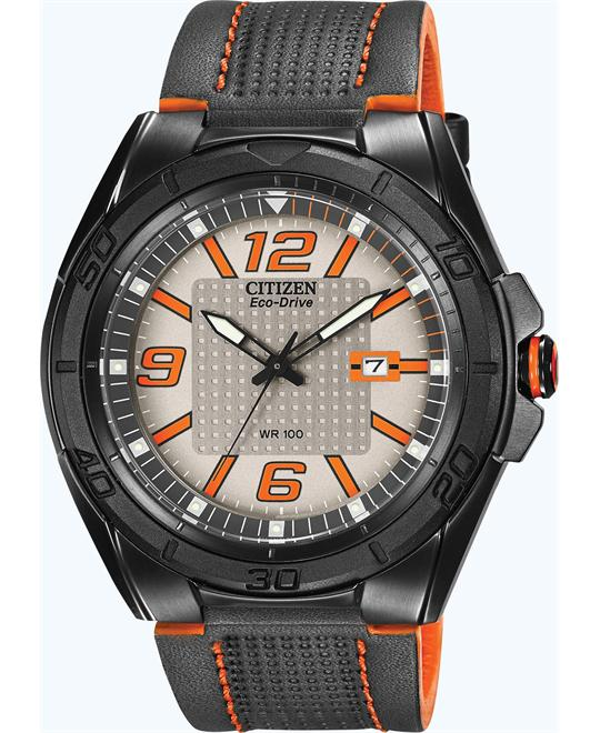 Citizen Men's Eco-Drive BRT Display Japanese Watch, 45mm